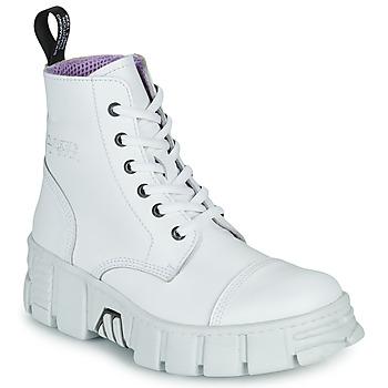 Zapatos Botas de caña baja New Rock M-WALL005-C1 Blanco