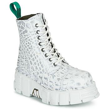 Zapatos Botas de caña baja New Rock M-MILI083C-V9 Blanco