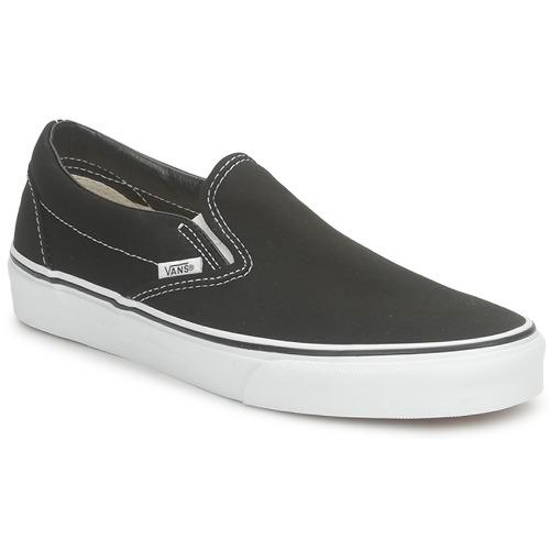 Zapatos especiales para hombres y mujeres Vans CLASSIC SLIP-ON Negro