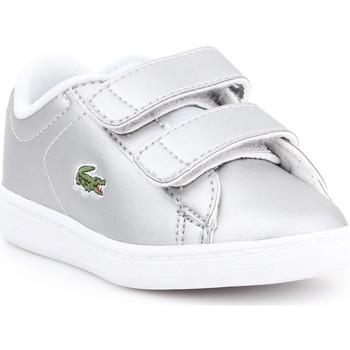Zapatos Niños Zapatillas bajas Lacoste Carnaby EVO 317 6 SPI 7-34SPI0006334 plata