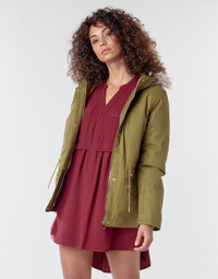 textil Mujer Abrigos Deeluxe LINA Kaki
