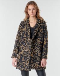 textil Mujer cazadoras Deeluxe LEA Marrón / Negro