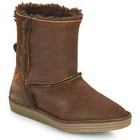 Zapatos Mujer Botas de caña baja El Naturalista LUX Marrón