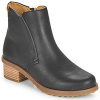 Zapatos Mujer Botines El Naturalista SOFT Negro