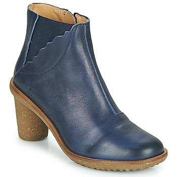 Zapatos Mujer Botines El Naturalista IRIS Azul
