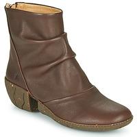 Zapatos Mujer Botines El Naturalista SOFT Marrón