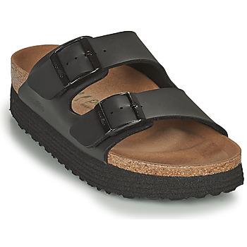 Zapatos Mujer Zuecos (Mules) Papillio ARIZONA GROOVED Negro