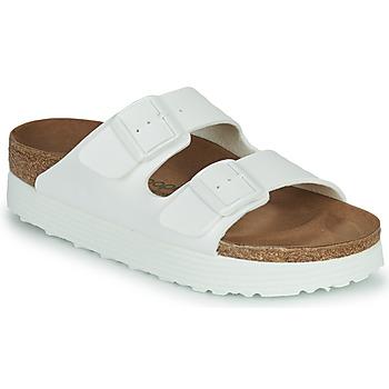 Zapatos Mujer Zuecos (Mules) Papillio ARIZONA GROOVED Blanco