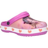 Zapatos Niña Zuecos (Clogs) Disney WD8022 Naranja