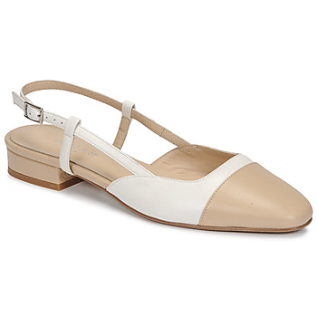 Zapatos Mujer Sandalias Jonak DHAPOU Beige / Blanco