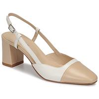 Zapatos Mujer Zapatos de tacón Jonak DHAPOP Beige / Blanco