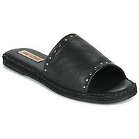 Zapatos Mujer Zuecos (Mules) Pare Gabia ROPLINE Negro
