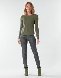textil Mujer Vaqueros slim G-Star Raw 5620 Custom Mid Skinny wmn Envejecido / Cobler