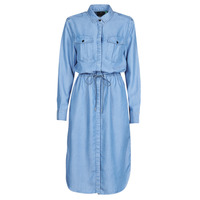 textil Mujer Vestidos largos G-Star Raw Rovic maxi shirt dress ls Envejecido