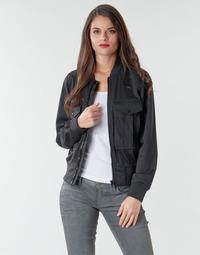 textil Mujer Chaquetas / Americana G-Star Raw Rovic aviator bomber wmn Negro / Negro