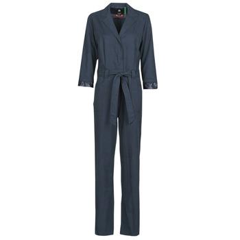 textil Mujer Monos / Petos G-Star Raw Workwear pj jumpsuit 34 slv wmn Azul