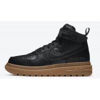 Zapatos Zapatillas altas Nike Air Force 1 Gore-Tex Boot ?Black Gum? Black/Anthracite-Gum Medium Brown