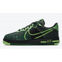 Zapatos Zapatillas altas Nike Air Force 1 React ?Naija? Black/Pine Green-Green Strike