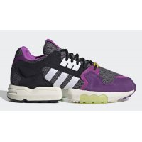 Zapatos Zapatillas altas adidas Originals Ninja x adidas ZX Torsion ?Time In? Grey Two/Cloud White-Glory Purple
