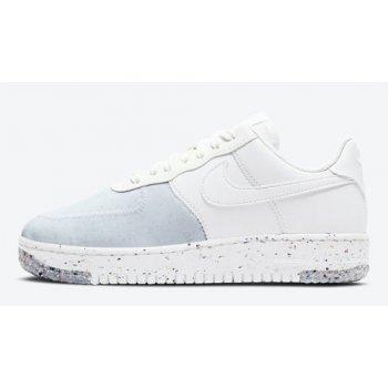 Zapatos Zapatillas altas Nike Air Force 1 Crater WMNS ?Summit White? Summit White/Summit White