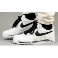 Zapatos Zapatillas altas Nike PEACEMINUSONE x Nike Air Force 1 ?Para-Noise 2.0? White/Black-White