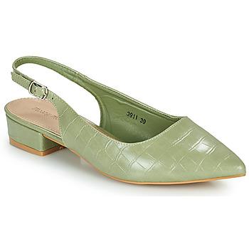 Zapatos Mujer Zapatos de tacón Moony Mood OGORGEOUS Verde / Almendra