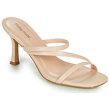 Zapatos Mujer Zuecos (Mules) Moony Mood OBIUTI Nude