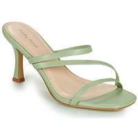 Zapatos Mujer Zuecos (Mules) Moony Mood OBIUTI Verde / Almendra