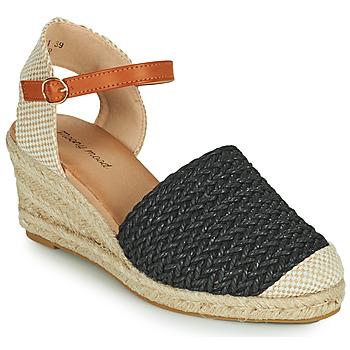 Zapatos Mujer Sandalias Moony Mood OCUTE Negro