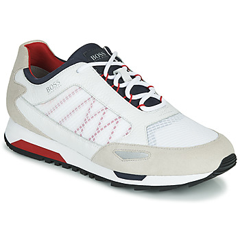 Zapatos Hombre Zapatillas bajas BOSS PARKOUR RUNN NET2 Blanco