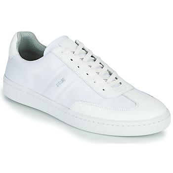Zapatos Hombre Zapatillas bajas BOSS RIBEIRA TENN NYLT Blanco