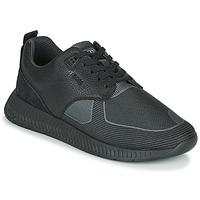 Zapatos Hombre Zapatillas bajas BOSS TITANIUM RUNN TBJQ Negro