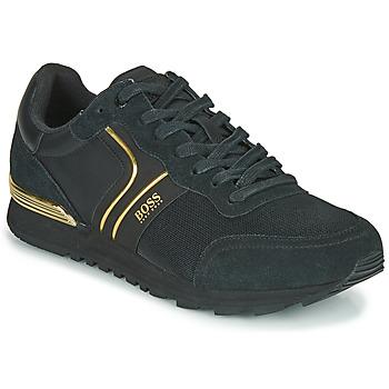 Zapatos Hombre Zapatillas bajas BOSS ARDICAL RUNN NYMX2 Negro / Oro