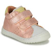 Zapatos Niña Zapatillas bajas Bisgaard TATE Rosa / Oro