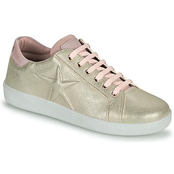 Zapatos Niña Zapatillas bajas Bisgaard TILDE Oro