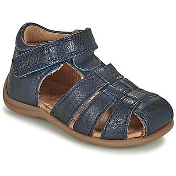 Zapatos Niños Sandalias Bisgaard CARLY Marino
