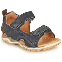 Zapatos Niño Sandalias de deporte Bisgaard CASPAR Marino