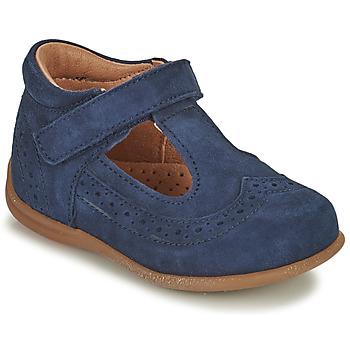 Zapatos Niña Bailarinas-manoletinas Bisgaard RAE Marino