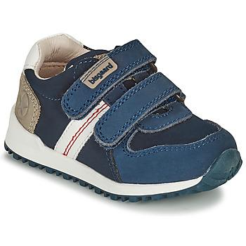 Zapatos Niño Zapatillas bajas Bisgaard STEVIE Marino