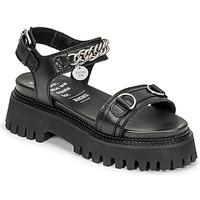 Zapatos Mujer Sandalias Bronx GROOVY SANDAL Negro