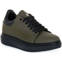 Zapatos Hombre Zapatillas bajas Exton GOMMA MILITARE Verde