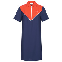 textil Mujer Vestidos cortos Lacoste FRITTI Rojo / Azul
