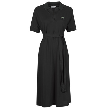 textil Mujer Vestidos largos Lacoste KONNI Negro