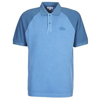 textil Hombre Polos manga corta Lacoste POLO PH9745 Azul