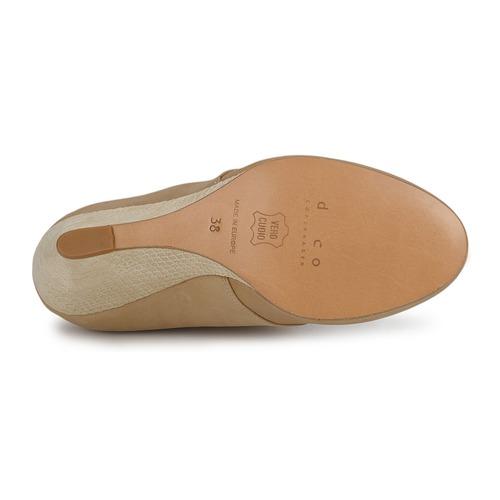 Cómodo Zapatos y bien parecido Zapatos Cómodo especiales D.Co Copenhagen EMILY Crema e9b595