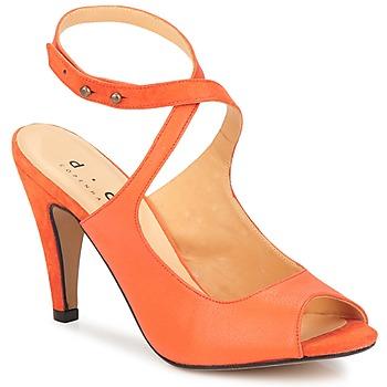 Zapatos Mujer Sandalias D.Co Copenhagen MARISSA Naranja