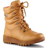 Zapatos Mujer Botas de caña baja Cougar Pillow Leather Tan