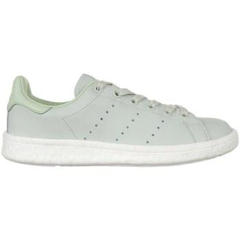 Zapatos Mujer Zapatillas bajas adidas Originals Stan Smith Boost Verdes