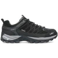 Zapatos Hombre Senderismo Cmp Rigel Negros