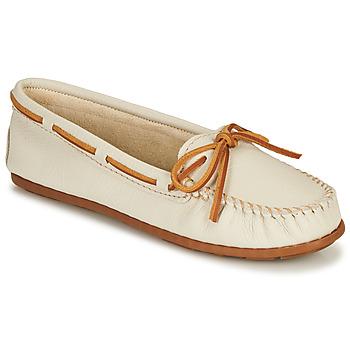 Zapatos Mujer Mocasín Minnetonka BOAT MOC Blanco